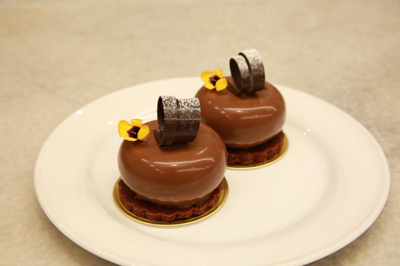 金田さんの作品「スペシャルチョコバナナ」