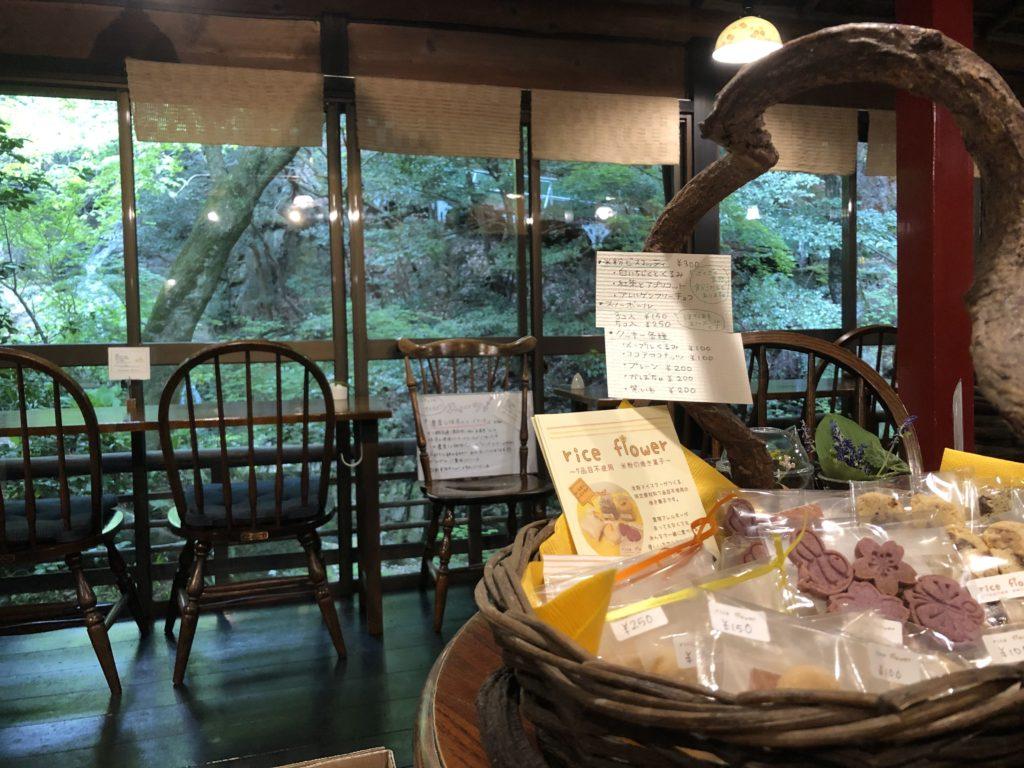 宮野さんがお菓子を卸しているカフェ 薬膳茶SoybeanFlour